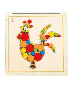 Детска дървена мозайка – Петле