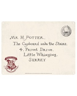 Табелка за врата Half Moon Bay - Harry Potter: Letters