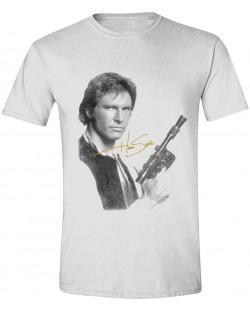 Тениска Timecity Star Wars - Han Solo Portrait