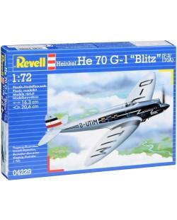 """Сглобяем модел Revell - Самолет Heinkel He 70 G-1 """"Blitz"""" (04229)"""