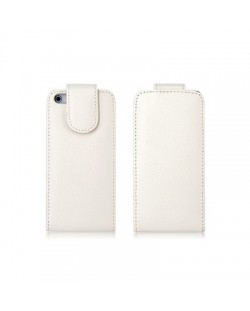 Holsten Leather Case за iPhone 5 -  бял