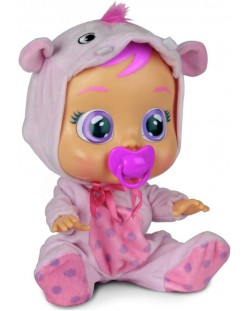 Плачеща кукла със сълзи IMC Toys Cry Babies - Хоупи, хипопотамче