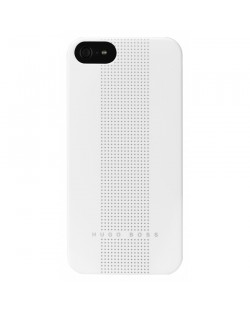 HUGO BOSS Dots Hardcover за iPhone 5 -  бял