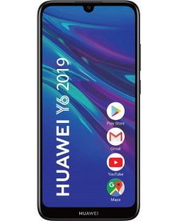 "Смартфон Huawei Y6 - 6.09"", 32GB, черен"