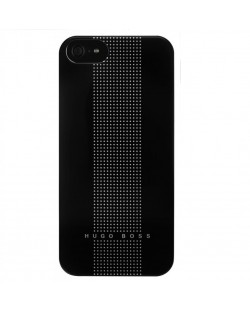 HUGO BOSS Dots Hardcover за iPhone 5 - черен