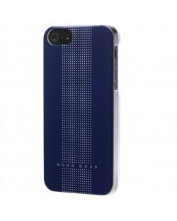 HUGO BOSS Dots Hardcover за iPhone 5 -  син