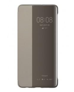 Калъф Huawei Elle P30 - Smart View Flip Cover, khaki
