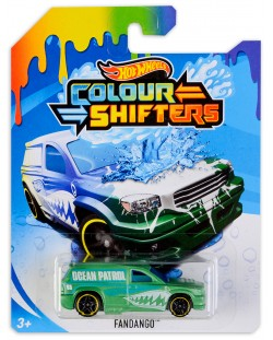 Количка Hot Wheels Colour Shifters - Fandango, с променящ се цвят