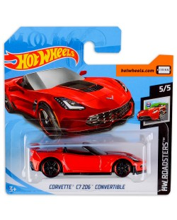 Количка Hot Wheels - Corvette C7 Z06