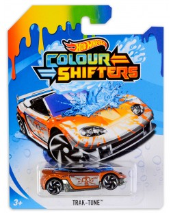 Количка Hot Wheels Colour Shifters - Trak-Tune, с променящ се цвят