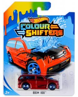 Количка Hot Wheels Colour Shifters - Boom Box, с променящ се цвят