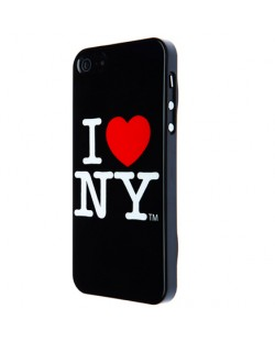 I love New York за iPhone 5 -  черен
