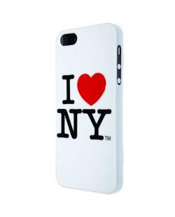 I love New York за iPhone 5 -  бял