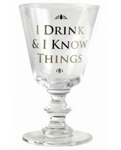 Чаша за вино Game of Thrones: I Drink & I Know Things