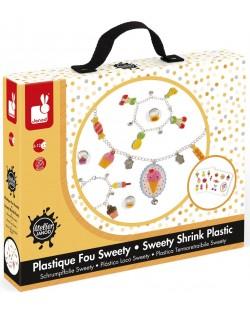 Творчески комплект Janod Sweety - Изработка на бижута