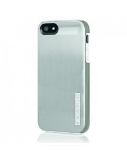 Калъф Incipio Dual Pro Shine за iPhone 5, Iphone 5s -  сиво-бял