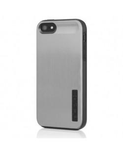 Калъф Incipio Dual Pro Shine за iPhone 5, Iphone 5s -  сиво-черен