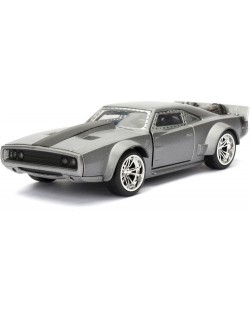 Фигура Metal Die Cast Fast & Furious - Dom's Ice Charger, мащаб 1:32