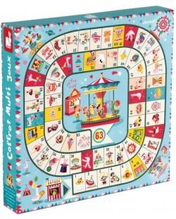 Комплект детски настолни игри Janod, Carrousel