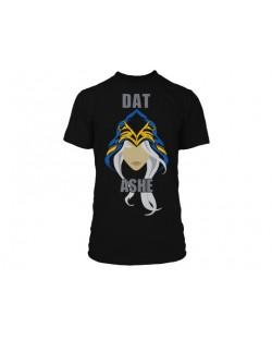 Тениска Jinx League of Legends - Dat Ashe, черна, размер M