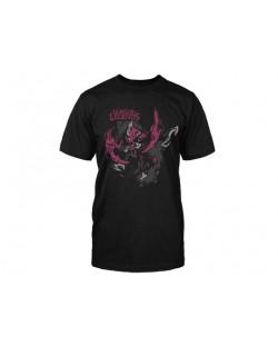 Тениска Jinx League of Legends - Chogath, черна, размер S
