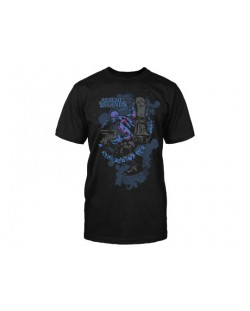 Тениска Jinx League of Legends - Ryze Premium, черна, размер XL