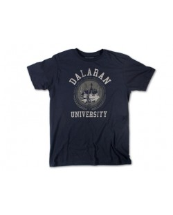 Тениска Jinx World of Warcraft Dalaran University, синя