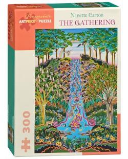 Пъзел Pomegranate от 300 части - Събирането, Нанет Картън