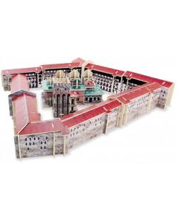 Дървен 3D пъзел Robo Time от 138 части – Рилски манастир