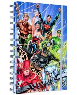 Тефтер Pyramid - Justice League United, формат A5