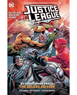 Justice League by Christopher Priest Deluxe Edition