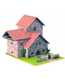 Сглобяем модел Domus Kits - Къща Рустика 5, Макет с истински тухли
