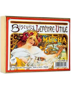 Карти за игра Piatnik - Mucha Biscuits (2 тестета)
