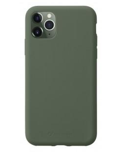Калъф за iPhone 11 Pro Cellularline - Sensation, зелен