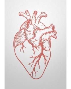 Картичка Мазно.бг - Анатомично сърце