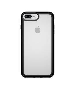 Калъф Speck Presidio Show - за iPhone 8 Plus, 6, 6S, 7 Plus, прозрачен/черен
