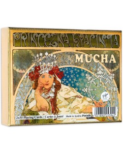 Карти за игра Piatnik - Mucha Hyacinta (2 тестета)