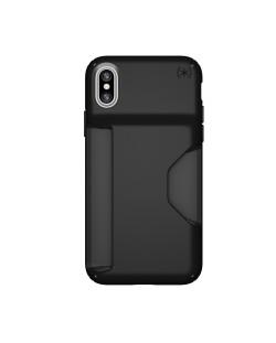 Калъф Speck iPhone X Presidio Wallet - Black/Black