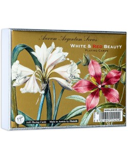 Карти за игра Piatnik - White and Red Beauty (2 тестета)