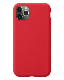 Калъф за iPhone 11 Pro Max Cellularline - Sensation, червен