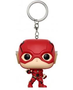 Ключодържател Funko Pocket Pop! DC Justice League - The Flash, 4 cm