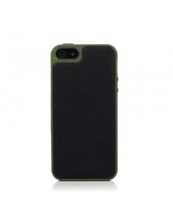 Knomo Leather Case за iPhone 5 -  черен