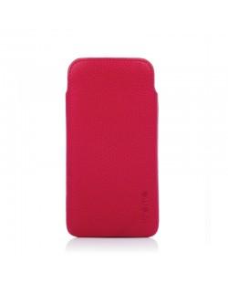 Knomo Ultraslim Pouch за iPhone 5 -  розов