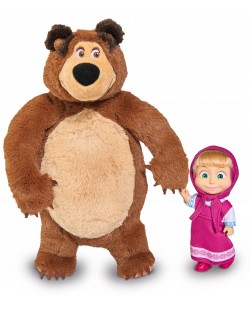 Комплект Simba Toys Маша и мечока - Маша и плюшен мечок