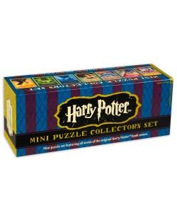 Колекционерски сет мини пъзели New York Puzzle от 100 части - Хари Потър