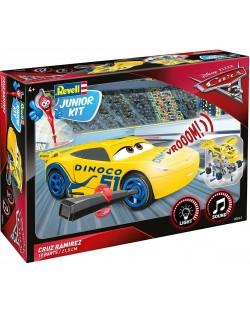 Сглобяем модел Revell Junior Kit - Колите 3, Круз Рамирес, със звук и светлини (00862)