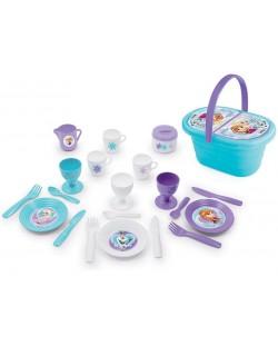 Детски комплект Smoby Frozen - Кошница за пикник