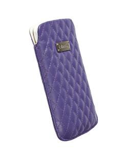 Krusell Avenyn Mobile Pouch L Long за iPhone 5 -  лилав