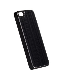 Krusell Bioserie AluCover Plain за iPhone 5 -  черен