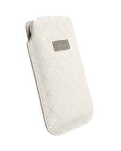 Krusell Avenyn Mobile Pouch L Long за iPhone 5 -  бял